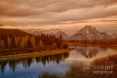 Oxbow Morning Art Print