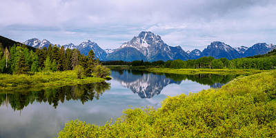Grand Tetons Wall Art - Photograph - Oxbow Summer by Chad Dutson