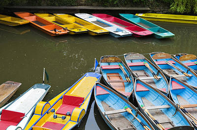Photograph - Oxford Boats by Mick House