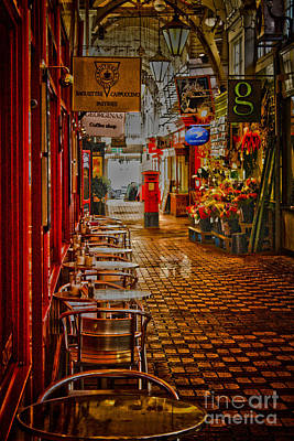 Photograph - Oxford Covered Market Hdr by Terri Waters