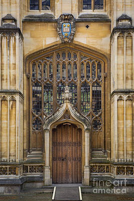 Photograph - Oxford Doorway by Brian Jannsen