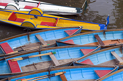 Photograph - Oxford Pleasure Boats by Mick House