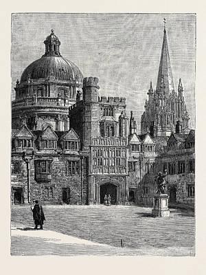 Oxford St. Marys Church Art Print by English School
