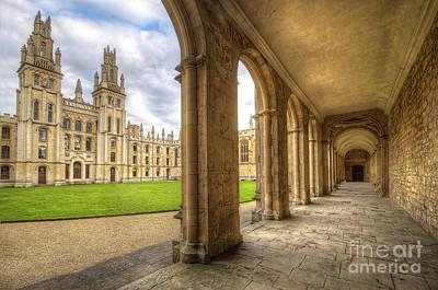 Photograph - Oxford University - All Souls College 2.0 by Yhun Suarez