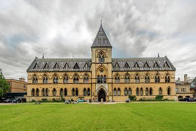 Natural History Museum Wall Art - Photograph - Oxford University Museum Of Natural History by Oxford University Images/science Photo Library
