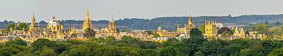 Photograph - Oxford University Panorama by Ken Brannen