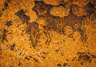 Photograph - Oxidative Design by Jean Noren