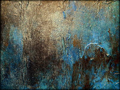 Painting - Oxidized 2 by Holly Anderson