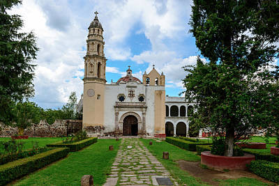Photograph - Oxtotipac Church And Monastery Mexico by Marek Poplawski