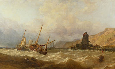 Oxwich Bay, South Wales, 1851 Art Print