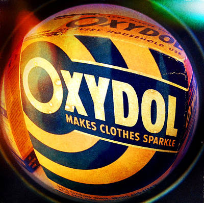 Photograph - Oxydol Makes Clothes Sparkle by Garry McMichael