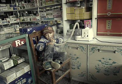 Photograph - Oxygen by Michel Verhoef