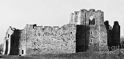 Photograph - Oystermouth Castle Retro by Paul Cowan