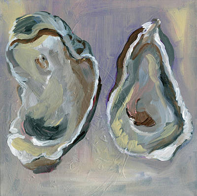 Oyster Painting - Oysters by Anne Seay