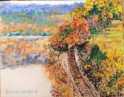 Arkansas Painting - Ozark Arkansas by Sharon  De Vore