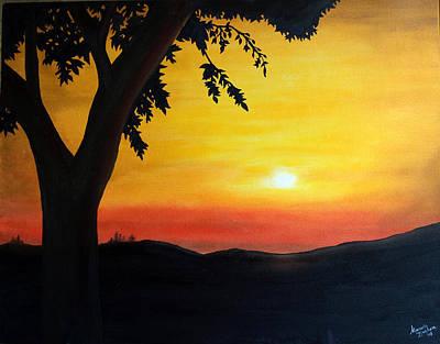 Painting - Ozark Sun by Marvin Barham