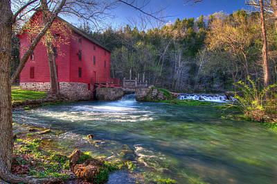 Photograph - Ozarks Grist Mill by Steve Stuller