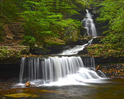 Gentle Cascades Photograph - Ozone Falls by Frozen in Time Fine Art Photography