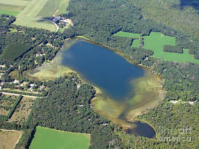 Photograph - P-020 Porters Lake Waushara Co. Wisconsin by Bill Lang