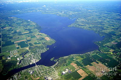 Photograph - P-027 Poygan And Winneconne Lakes Wisconsin by Bill Lang