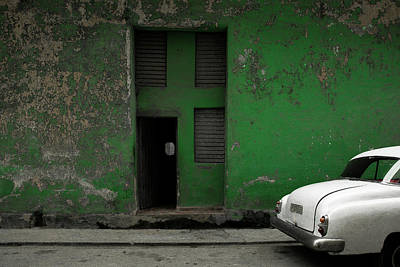 Car Abstract Wall Art - Photograph - P 177 535 by Inge Schuster