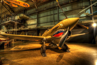 Photograph - P-40 Warhawk  by David Dufresne