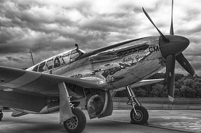 Photograph - P-51 Mustang Betty Jane by Eric Miller