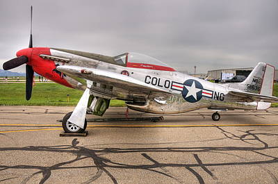 Photograph - P-51 Mustang by Jack Dean