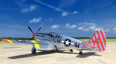 Photograph - P-51 Mustang by Kristia Adams