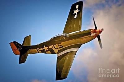 Rolls Royce Digital Art - P-51d Mustang 'lady Alice' by Gus McCrea