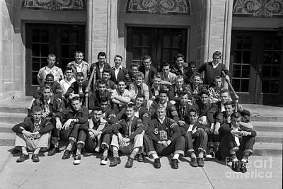 Photograph - P. G. Block Society Pacific Grove High School May 1951 by California Views Archives Mr Pat Hathaway Archives