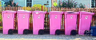Art Print featuring the photograph P-town Bins by Sebastian Mathews Szewczyk