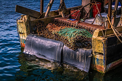 Photograph - P-towns Fishing Troller  by Susan Candelario