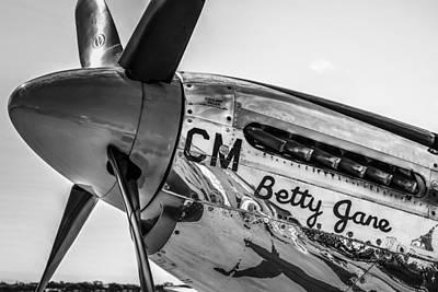 P51 Betty Jane Original by Chris Smith
