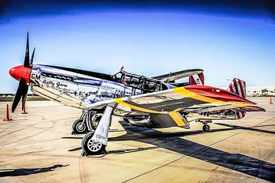 P51 Mustang Original by Chris Smith