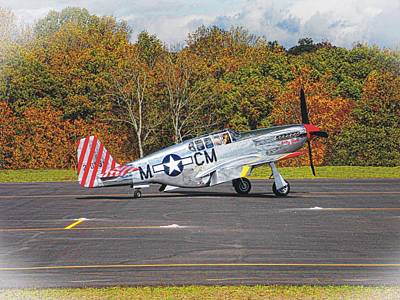 Photograph - P-51 Mustang by Joe Duket