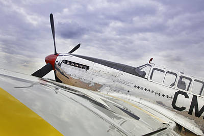 P51 Mustang Photograph - P51 Mustang by M K  Miller