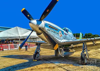 Photograph - P51 Mustang  Kwitcherbitchin by Nick Zelinsky
