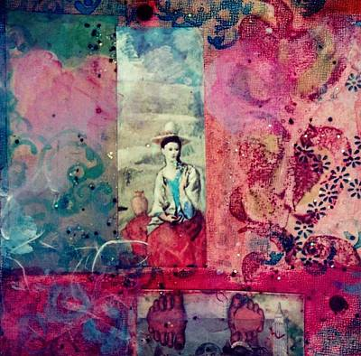 Kahlo Mixed Media - Pablo And Frida's Day Dream by Melinda Jones