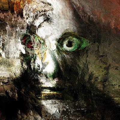 Portraits Mixed Media - Pablo Honey by Big Fat Arts