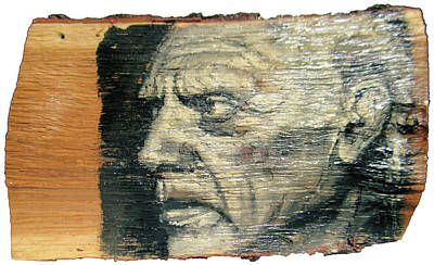 Pablo Picasso Face Portrait - Painting On The Wood Original
