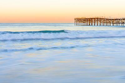 Photograph - Pacific Beach Dawn by Priya Ghose