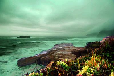 Pacific Beauty Print by Dale Stillman