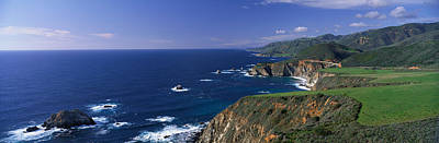 Big Sur Ca Photograph - Pacific Coast, Big Sur, California, Usa by Panoramic Images