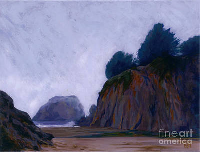 Pacific Coast Fog Art Print
