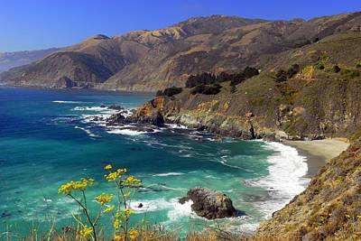 Photograph - Pacific Coast Highway   California by Willie Harper
