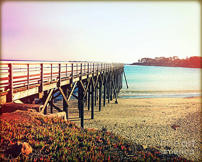 Pacific Coast Highway Wall Art - Photograph - Pacific Coast Highway Pier View II by Chris Andruskiewicz