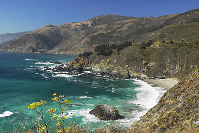 Photograph - Pacific Coast Hwy   California by Willie Harper