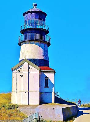 Pacific Coast Light House Art Print