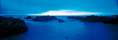 Pacific Coast Monterey Ca Usa Art Print by Panoramic Images